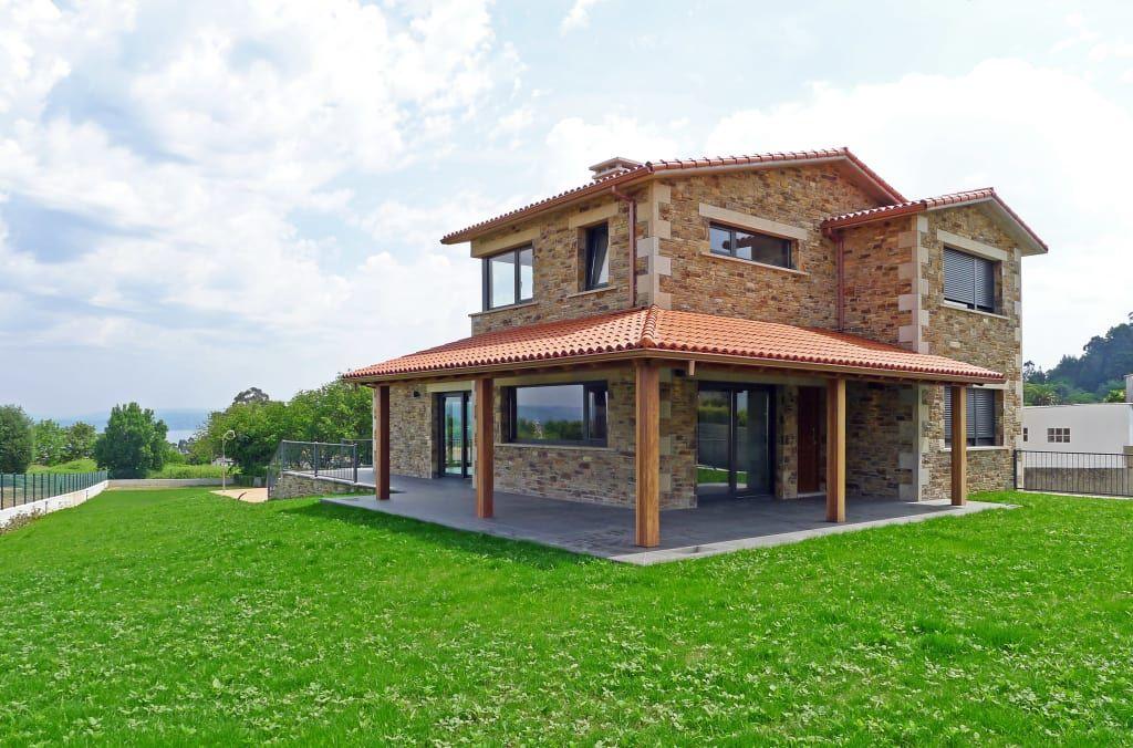 Case in stile rustico di ad+ arquitectura rustico pietra