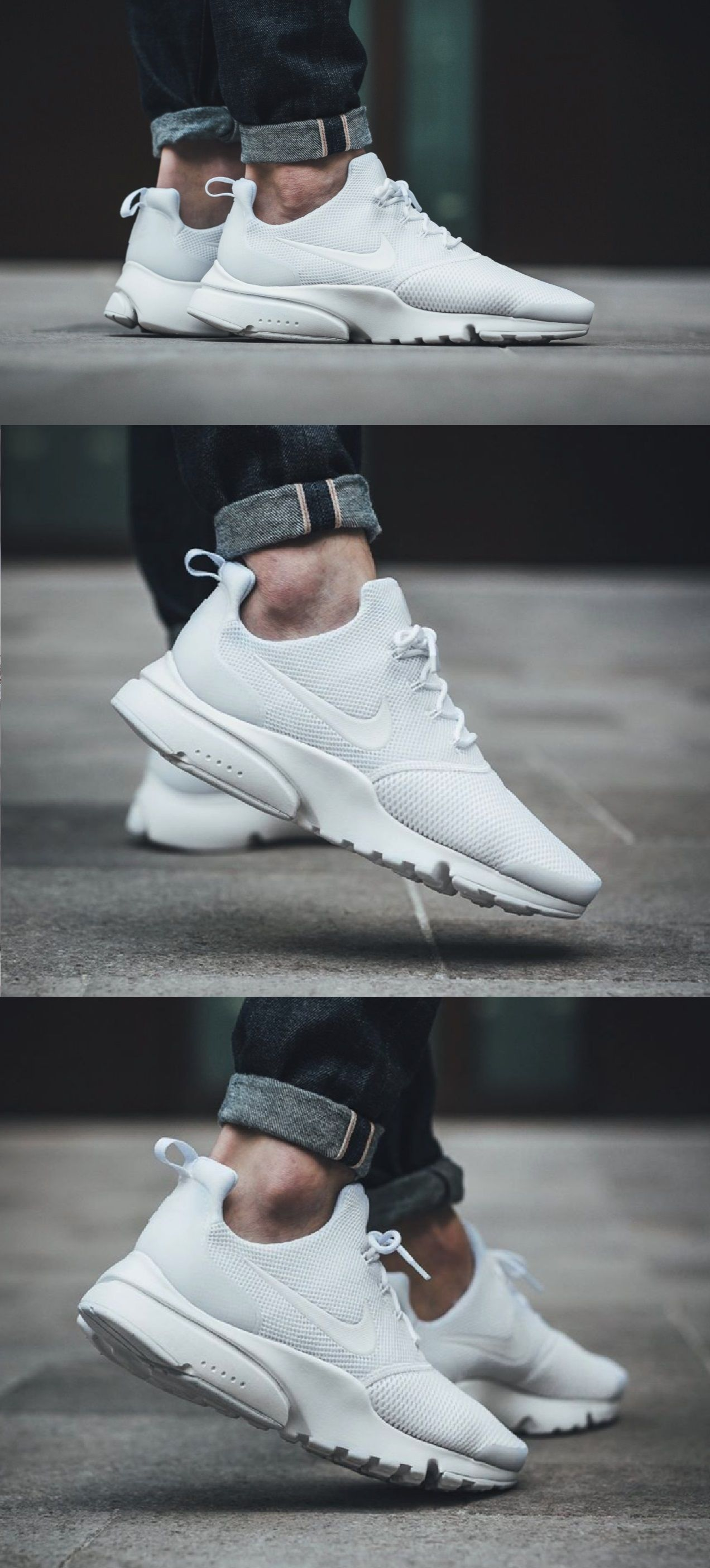huge selection of 72f1a 64933  NIKE AIR PRESTO FLY  TRIPLEWHITE""