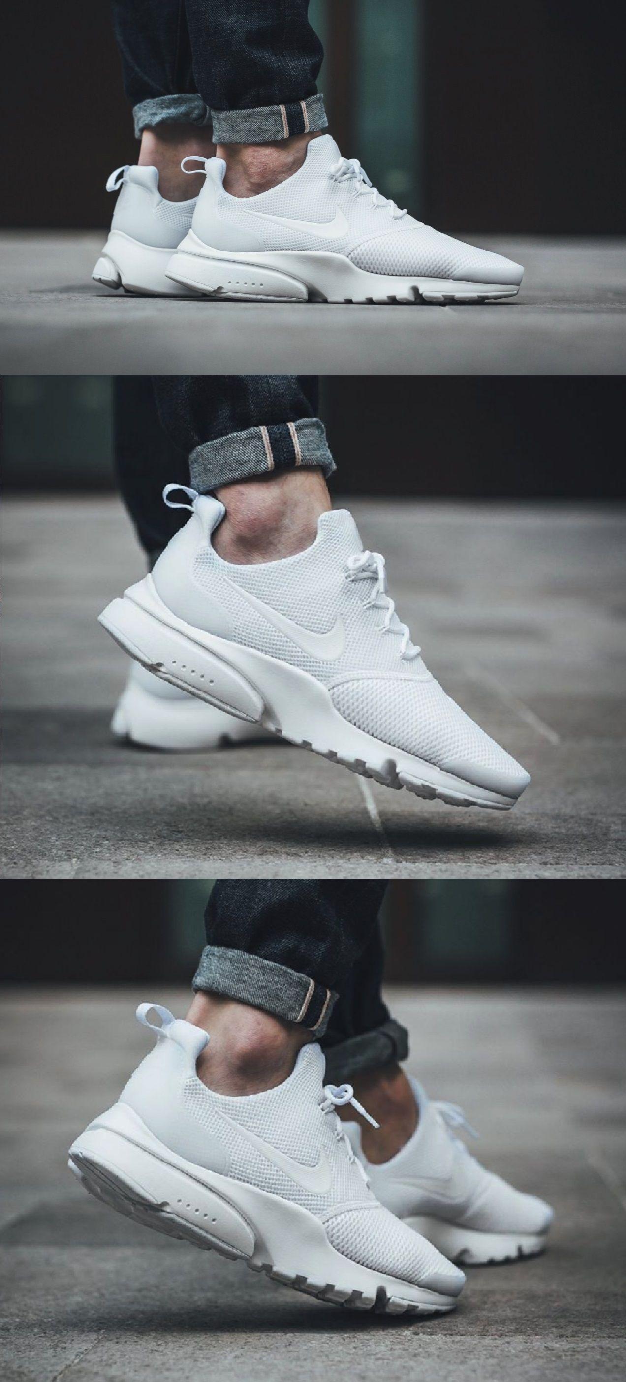 Nike Air Presto Fly Triplewhite Nike Schuhe Turnschuhe Schuhe