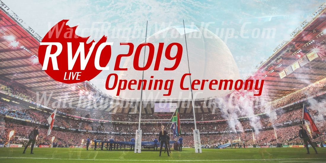 Rugby World Cup (RWC2019) Opening Ceremony Live Rugby