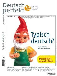 """Alles, was man zur deutschen Sprache wissen muss: """"DEUTSCH PERFEKT"""" (А2 - С2)  11- 2015"""