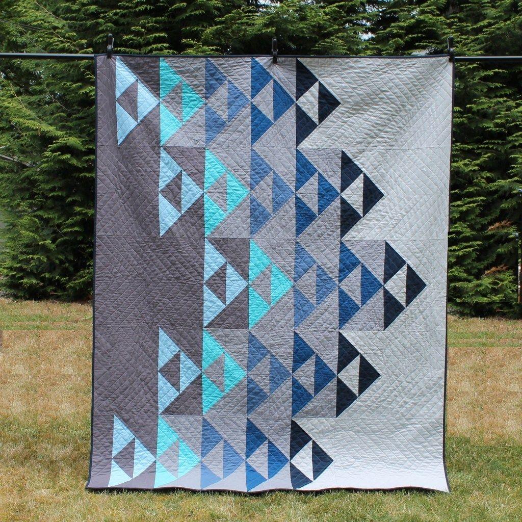 Digital Pdf Left The Nest Quilt Pattern Modern Quilting Designs Modern Quilt Patterns Quilt Patterns
