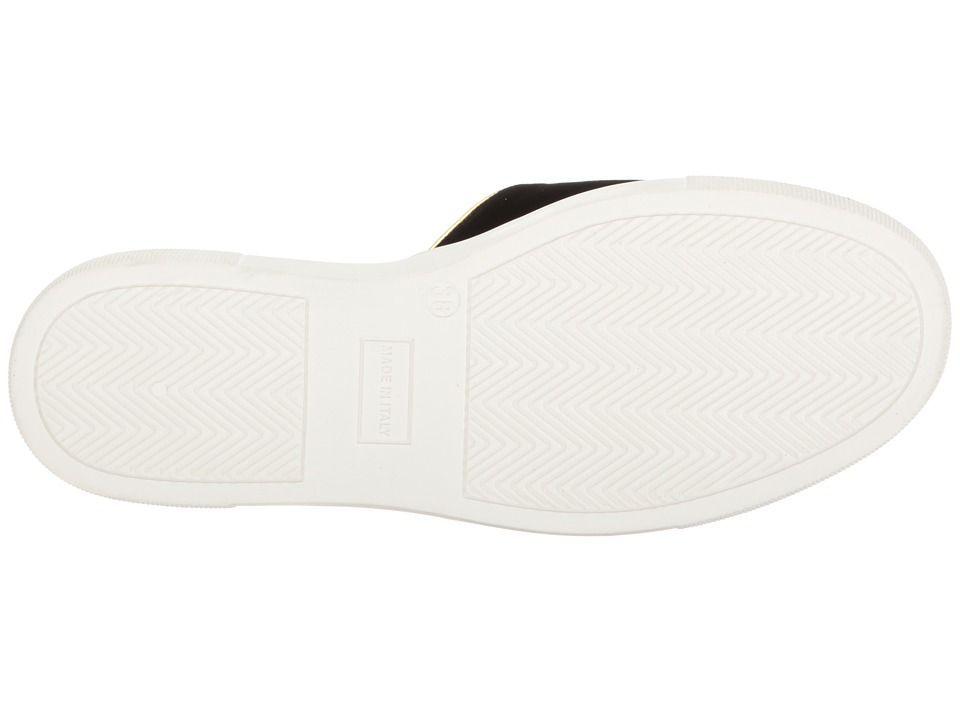 adf470197 Charlotte Olympia Kitty Pool Sliders Women s Slide Shoes Black Velvet