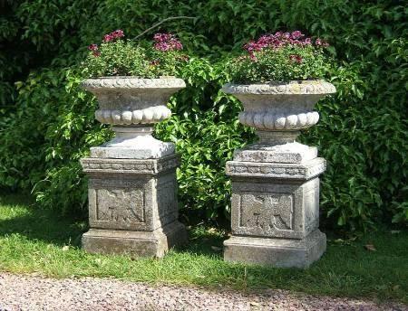 Antique garden urns | Urns | Pinterest | Garden urns, Urn and Gardens