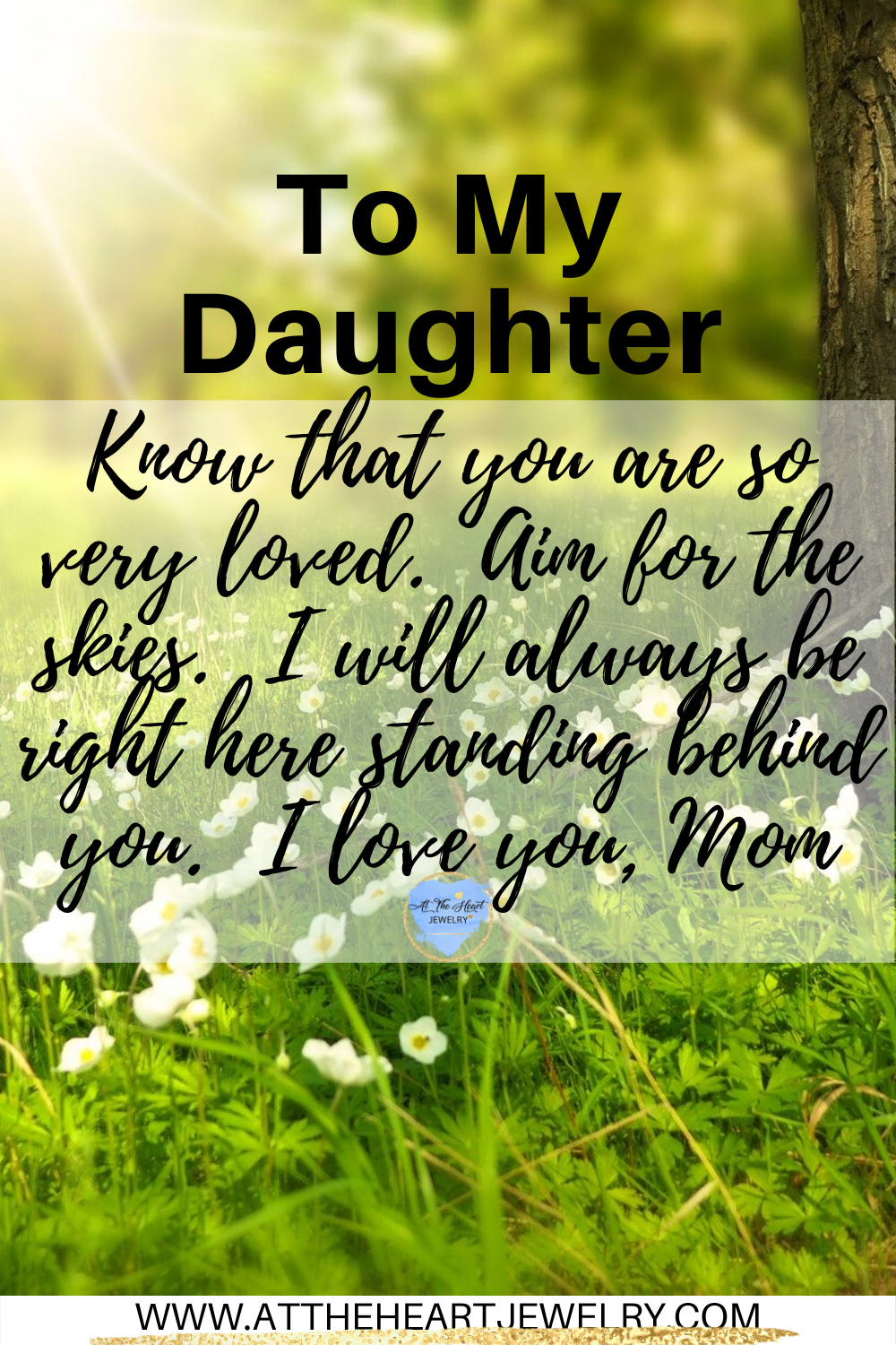 To My Daughter From Mom Birthday Message For Daughter Birthday Quotes For Daughter Daughter Love Quotes