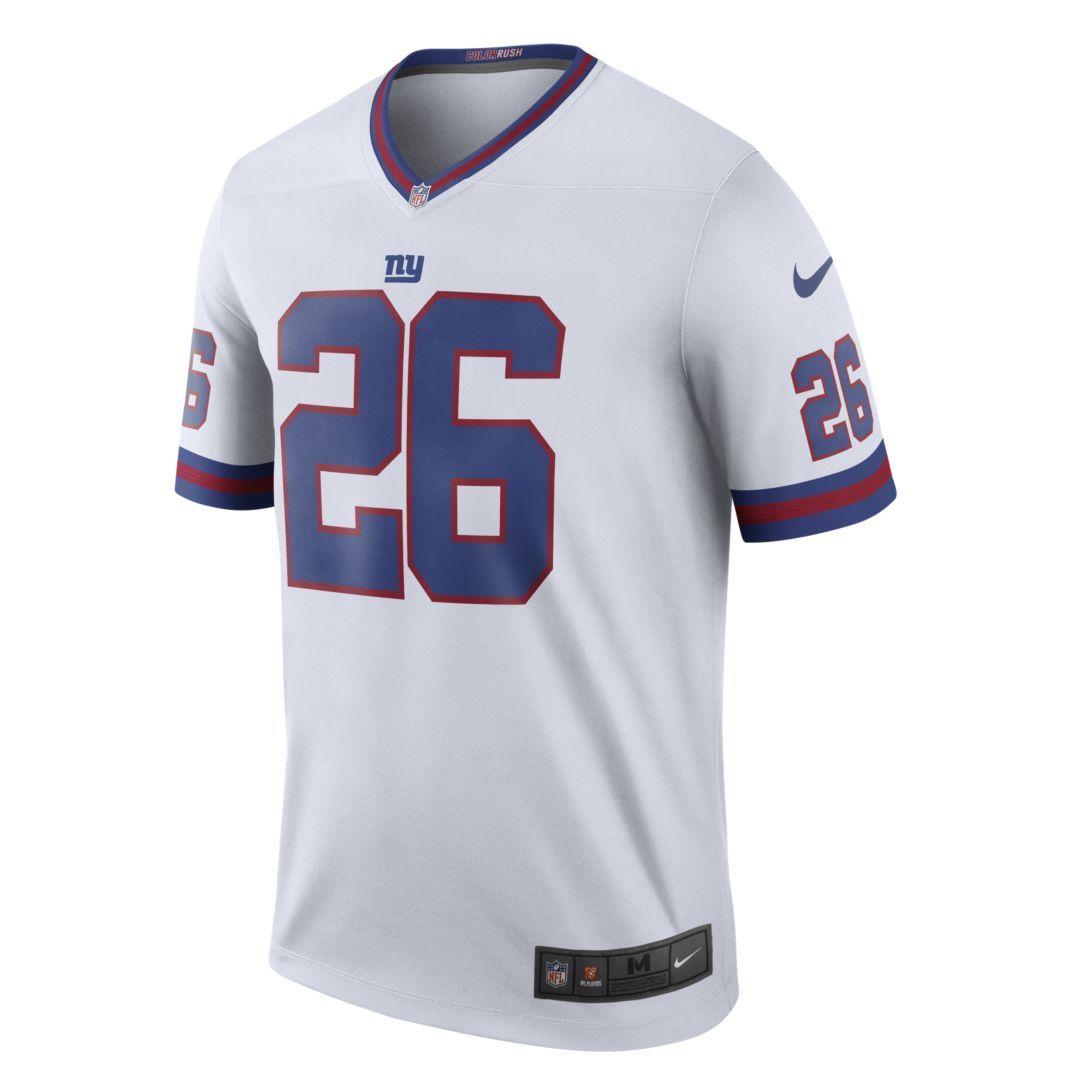 the latest a5c3a 775c8 NFL New York Giants Legend (Saquon Barkley) Men's Football ...