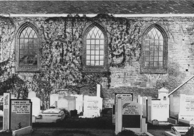 cemetery of the Dutch Reformed Church in Castricum