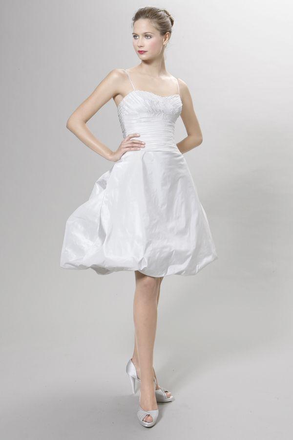 Peter Langner Rolla cocktail dress. Peter Langner gowns are sold at The Bridal Salon at Saks Jandel.