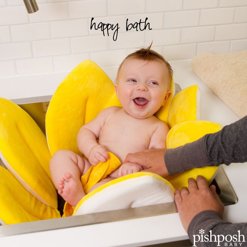 The softest, cushiest way for baby to bathe when you turn your sink ...