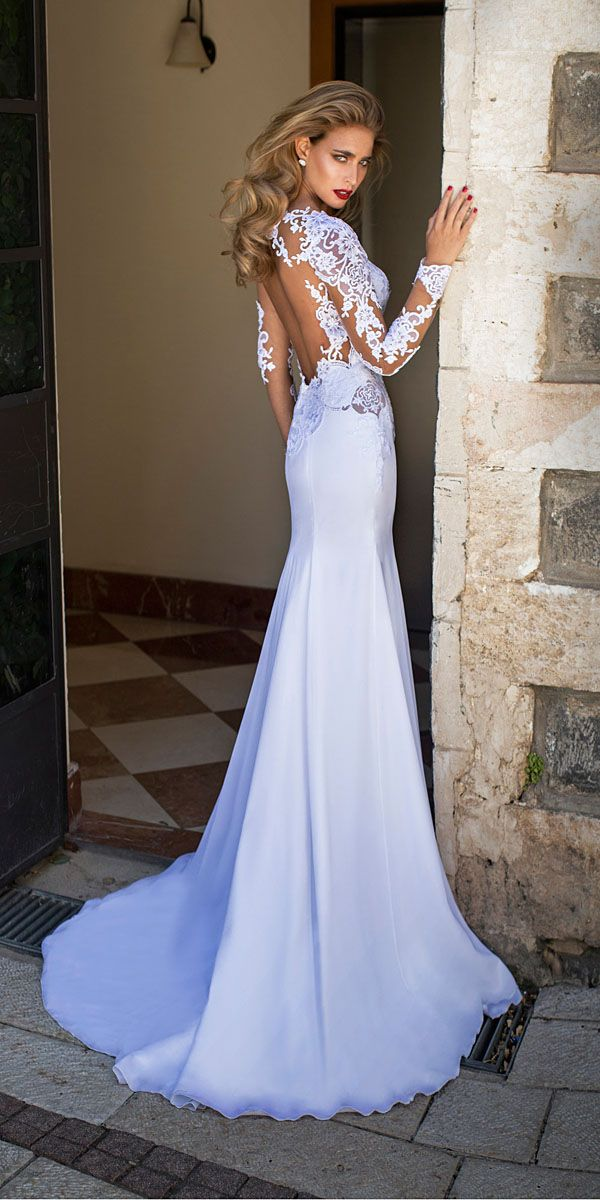 Gorgeous Tattoo Effect Wedding Dresses See More Http Www Weddingforward