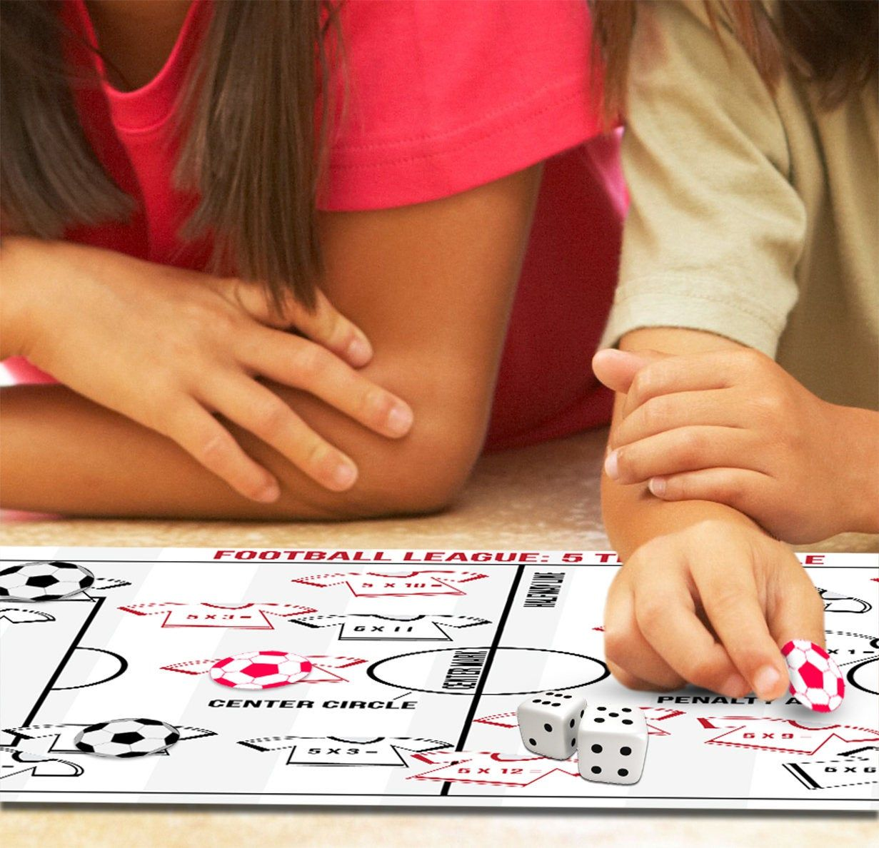 Multiplication Football Board Game Football Maths Games