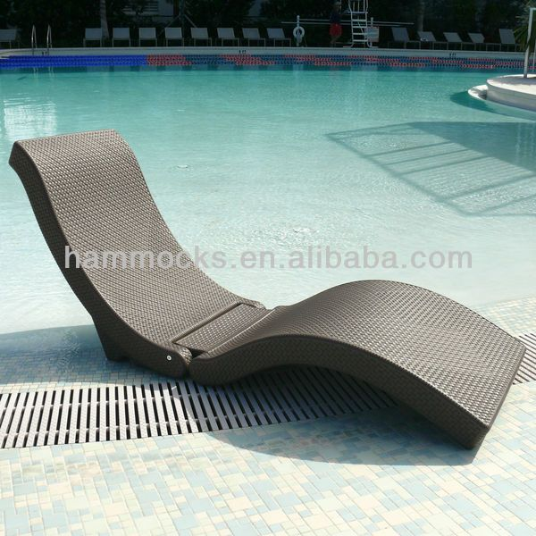 Floating Chaise Lounge Chair Pool Outdoor Deck Patio Furniture $0~$50