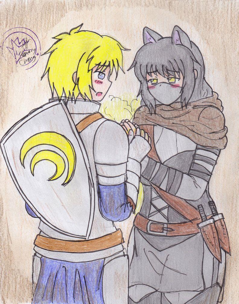 Yang and blake fanfic