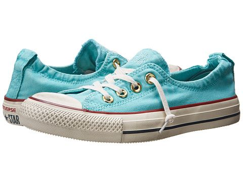 Officiele Womens Converse All Star Shoreline Slip Coral/Blue Buy
