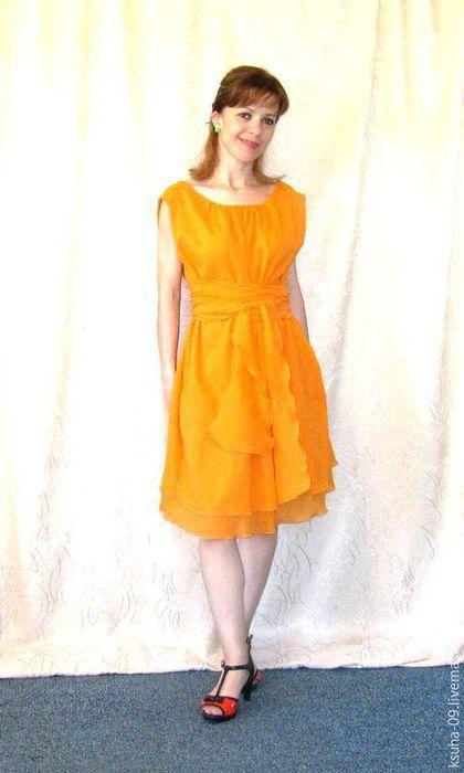 bf551bc9684f Платья ручной работы. Ярмарка Мастеров - ручная работа. Купить Платье летнее  из Итальянской марлевки