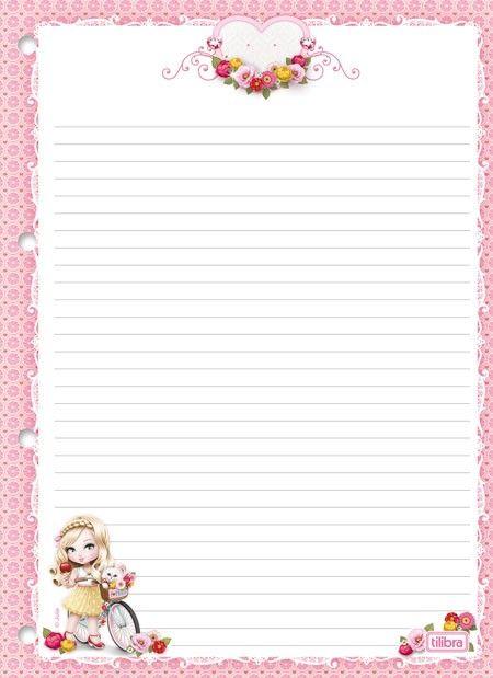 Refil para Caderno Argolado Universitário Jolie 96fls | Cadernos ...