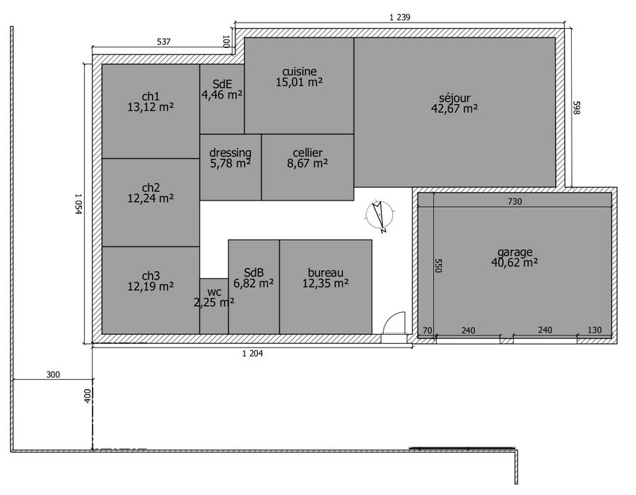 Avis sur plan de maison plain pied de 150m2 36 messages page 2 plan - Plan maison 150m2 plain pied ...