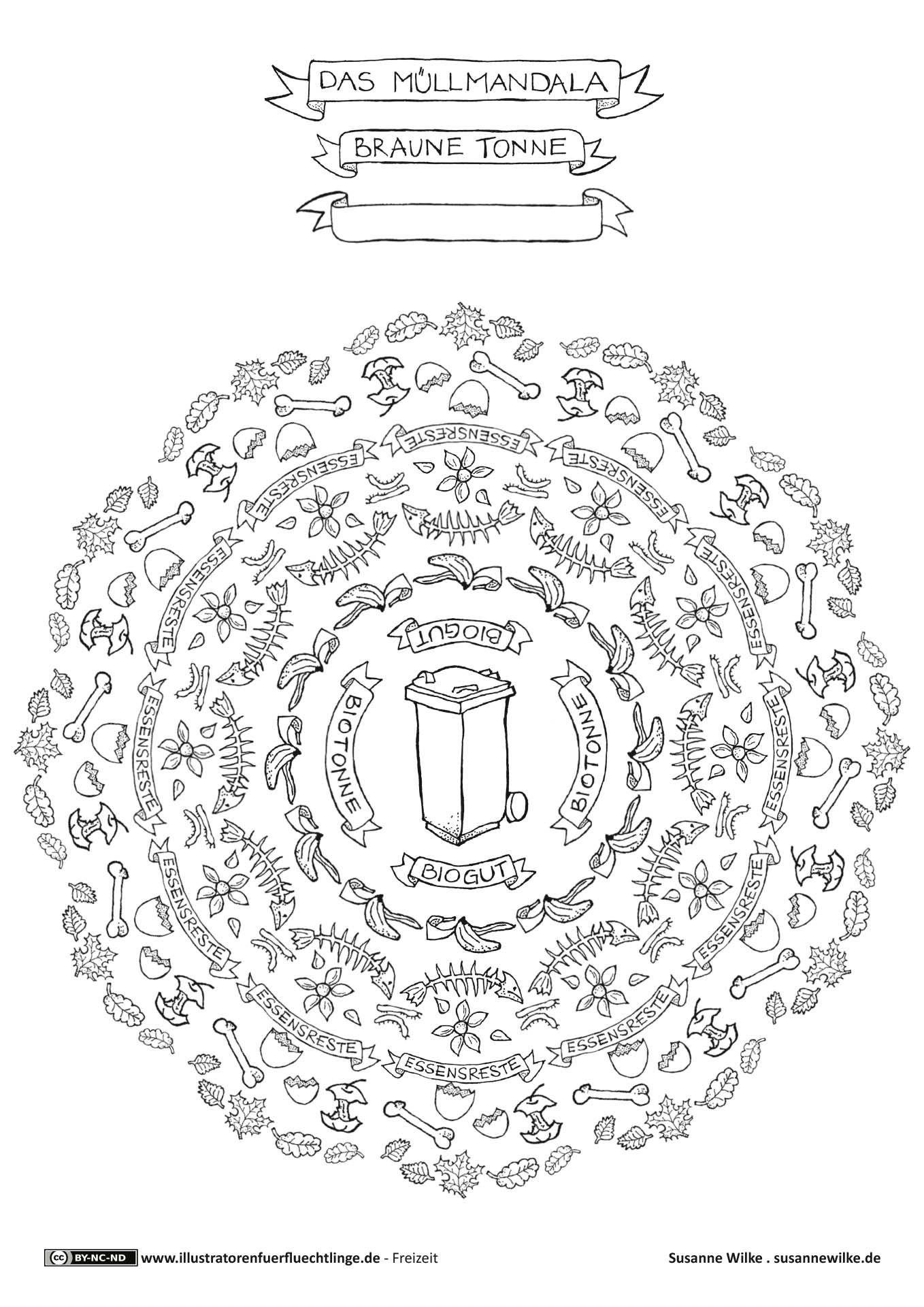 Download als PDF: Leben und Wohnen – Müll Mülltrennung Bio Mandala ...