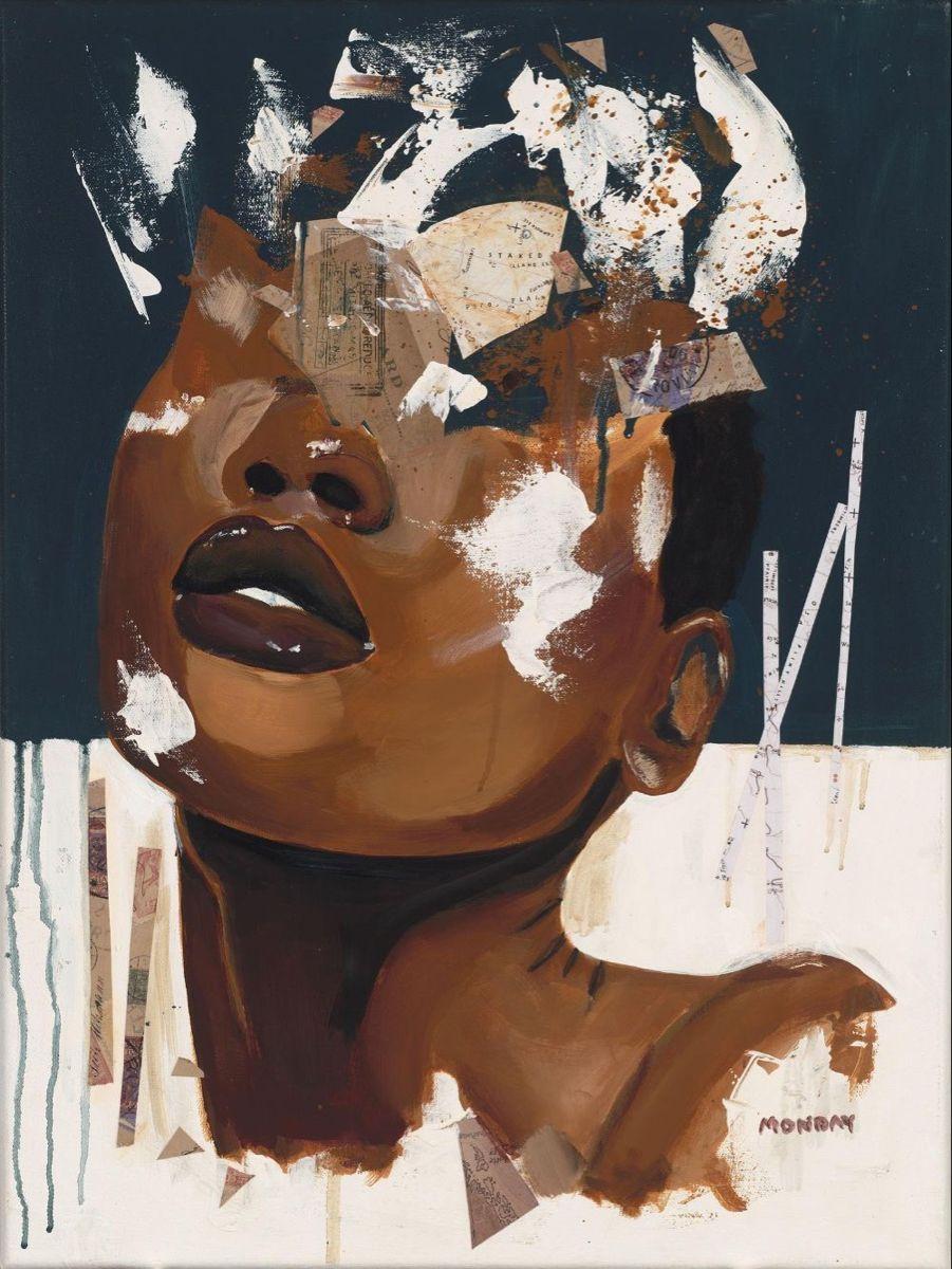 Pin By Nicole On Art In 2020 Black Art Painting Art African American Art