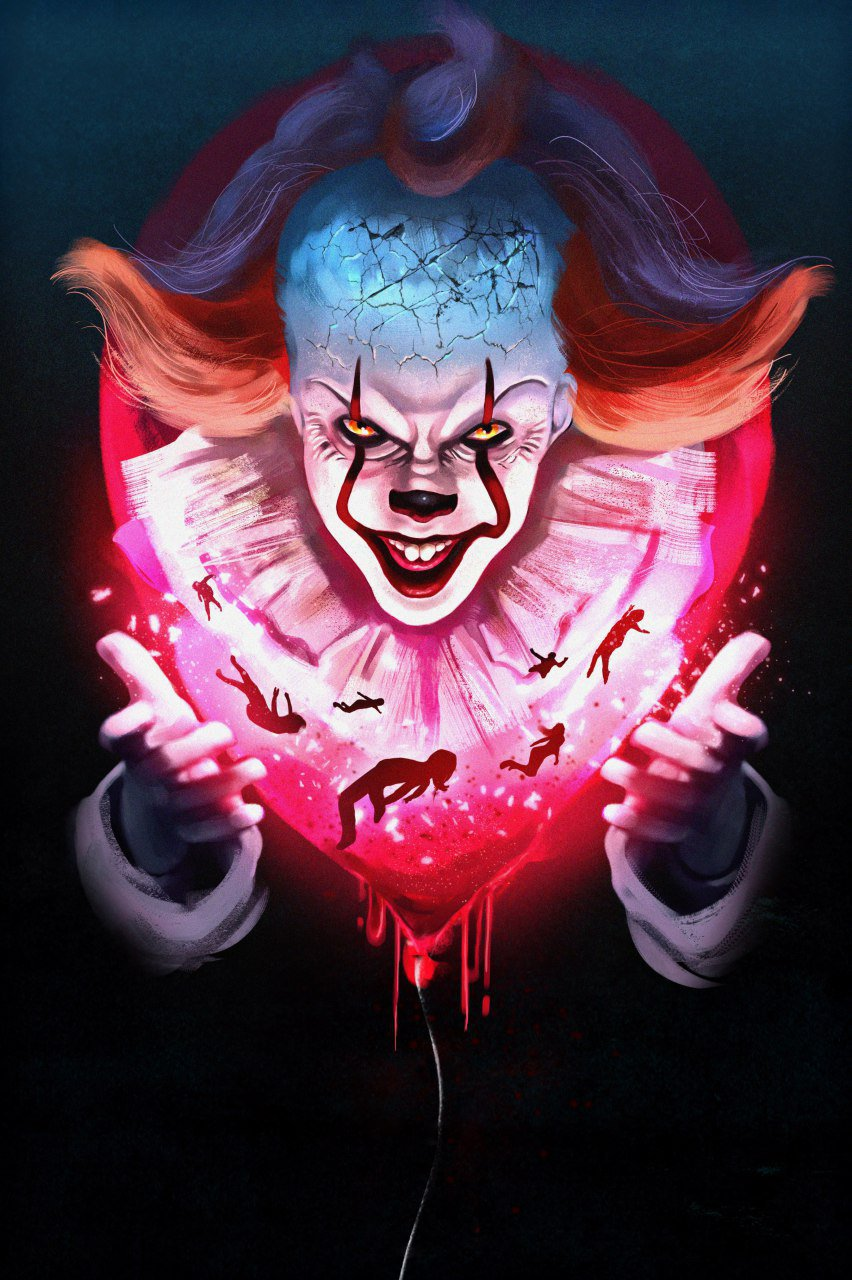 It Chapter 2 Pennywise Wallpapers Horror Movie Posters Clown Horror Pennywise The Clown