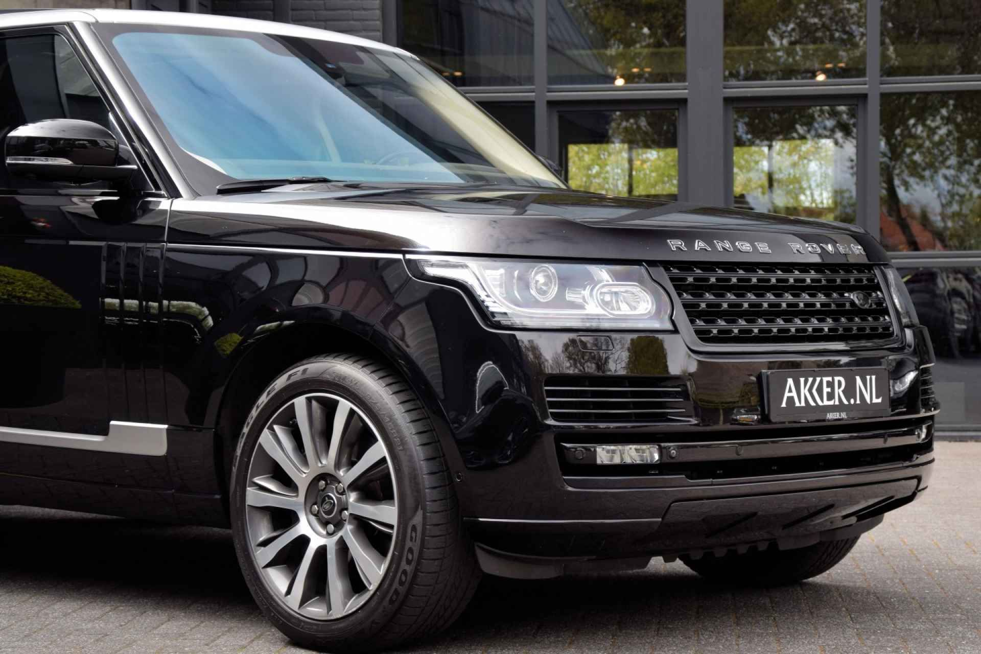 SDV8 Autobiography in Barolo black and silver roof Range