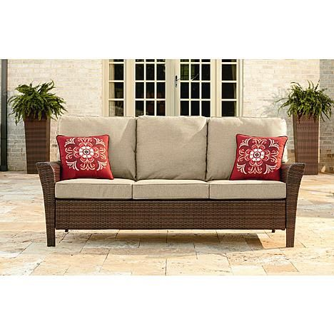 Ty Pennington Style Parkside 3 Seat Sofa Sofa Bench Furniture Outdoor Living