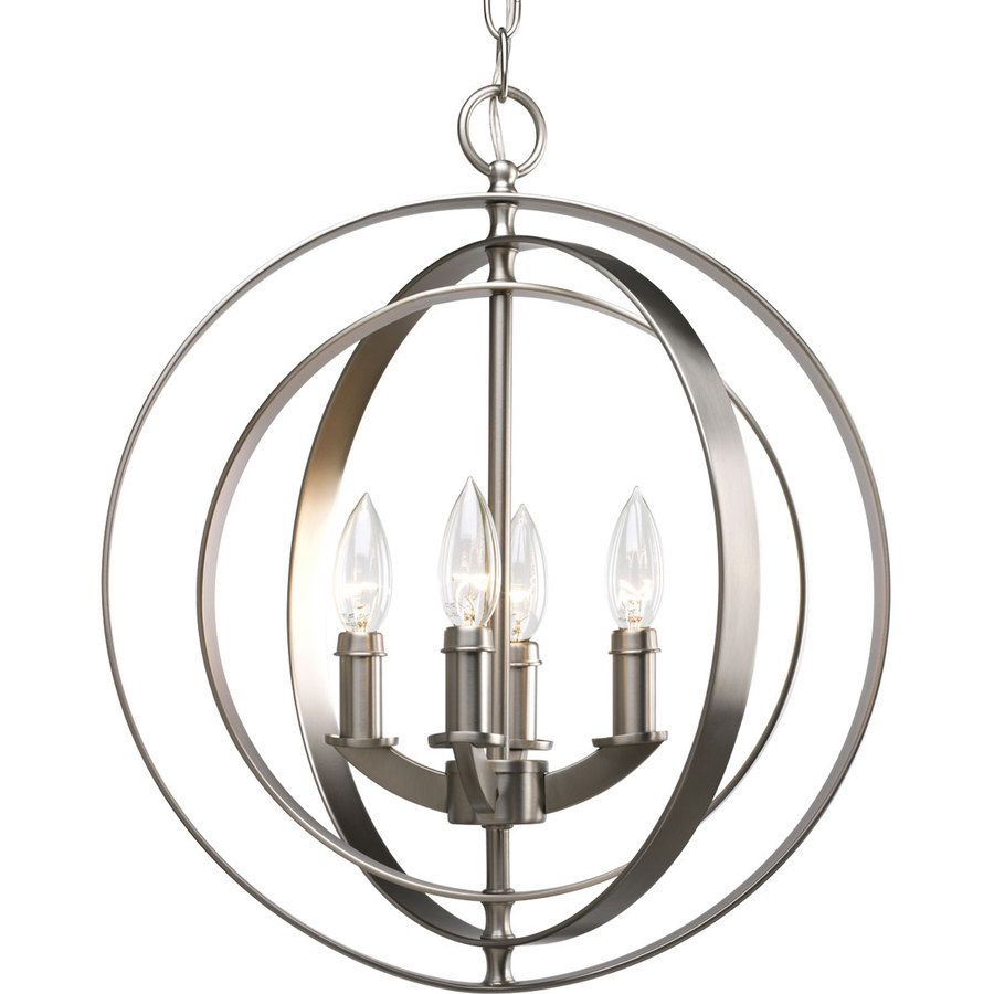 Photo Gallery Website Shop Thomasville Lighting Equinox Light Burnished Silver Chandelier at Lowes