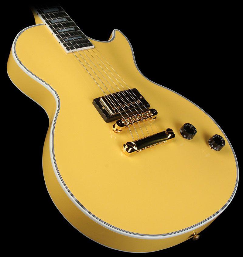Gibson Custom Shop Les Paul Custom Single Pickup Electric Guitar ...