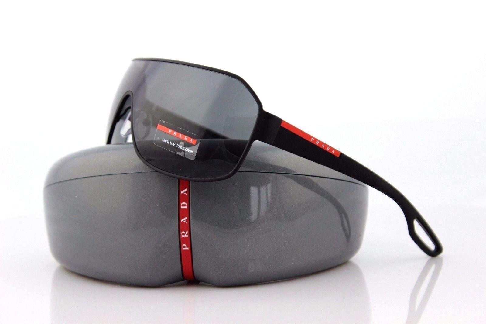 b39133bcf52 Details about NEW Authentic PRADA Sport Lifestyle Black Sunglasses PS 52QS  SPS 52Q DG0 1A1 52Q