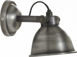 Applique turfort silver lampe murale bistrot au style industriel