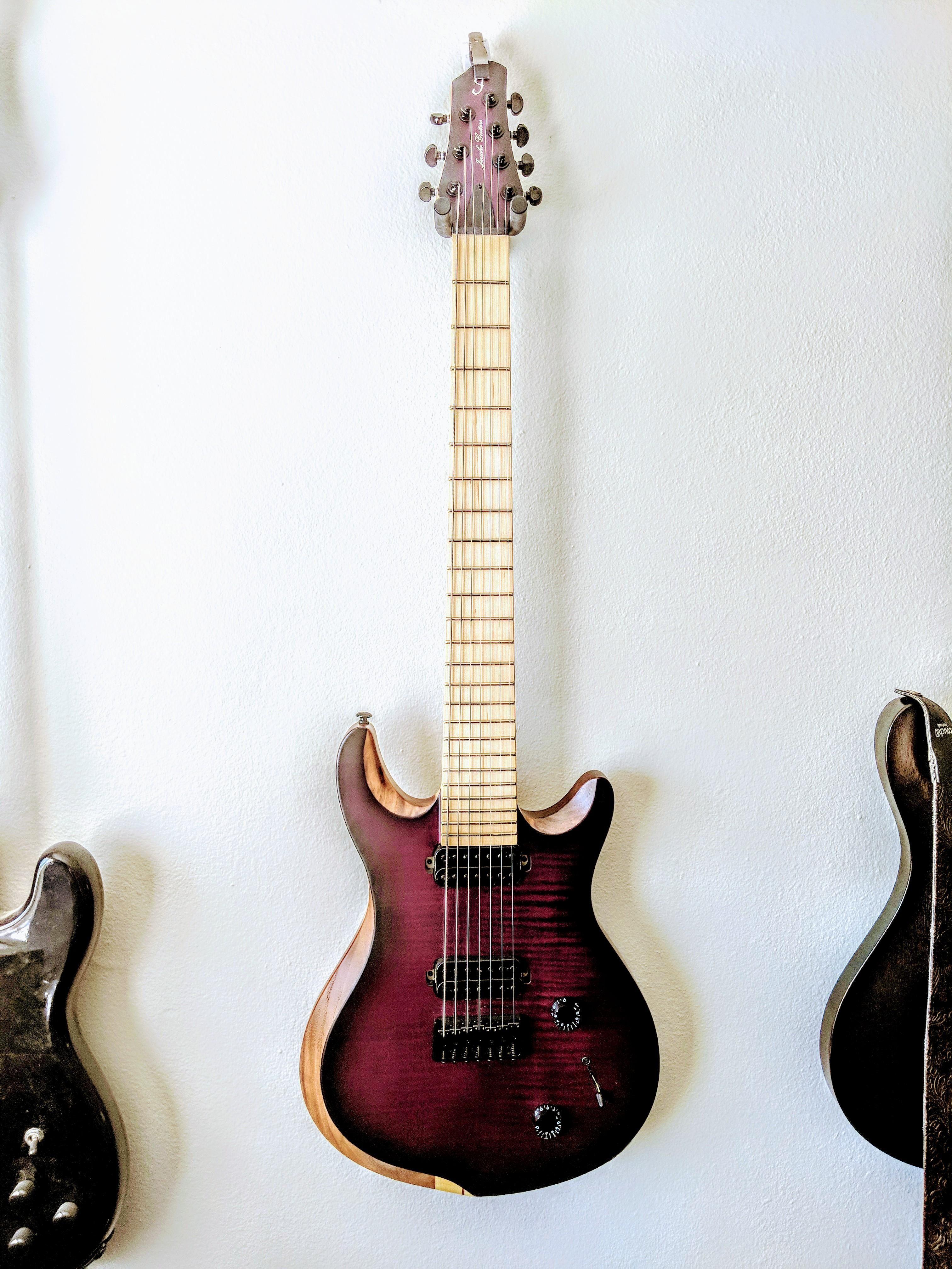 Ngd Jericho Edge 7 Nt Guitar Design Guitar Jericho