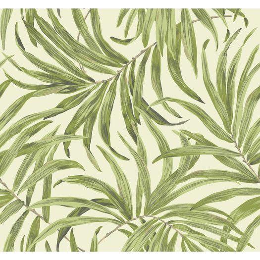 "Found it at AllModern - Ashford Tropics 27' x 27"" Bali Leaves Wallpaper"