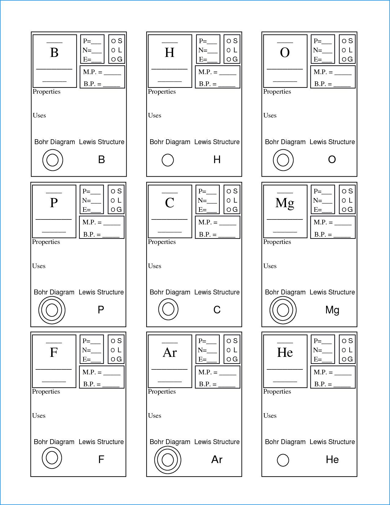 New Periodic Table Grade 7 Pdf Ensenanza De Quimica Notas De Quimica Ciencias Quimica