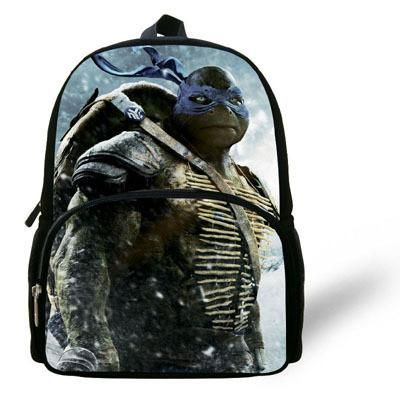 12 Inch Mochila Age Mutant Ninja Turtles Backpack Chid