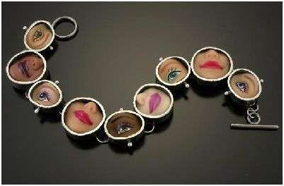 Barbie Doll Parts Made Into Jewelry: Margaux Lange Designs