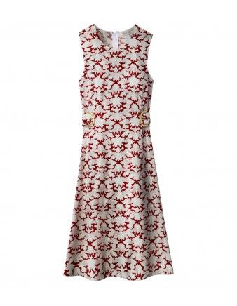 Stella McCartney Printed Buckle Dress