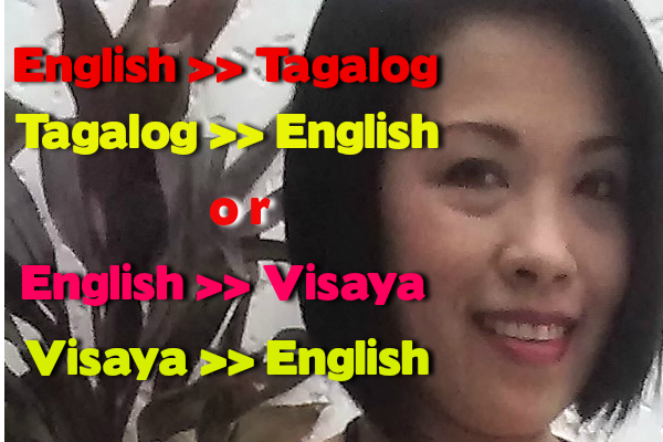 translate English to Tagalog by laraleen