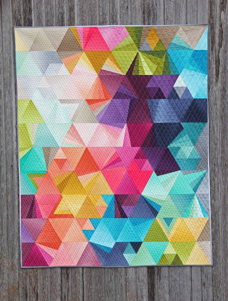 BUNDLE SALE! And new fabric!! Ombre, Patchwork and Rainbow quilt