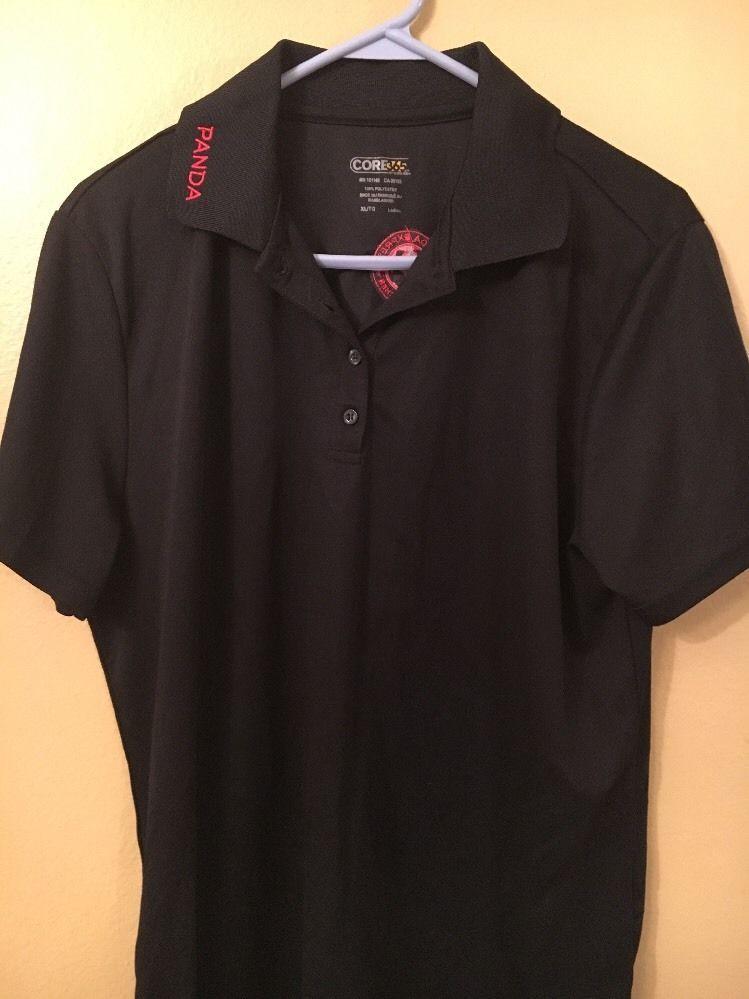 03cb8667b4 Panda Express Chinese Kitchen Black Employee Uniform Polo Shirt Ladies XL