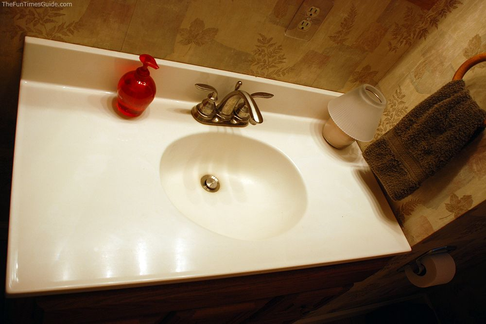How To Re Shine A Marble Countertop Or Bathroom