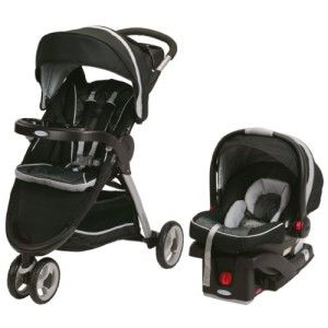 Graco FastAction Fold Sport Stroller Click Connect Travel ...