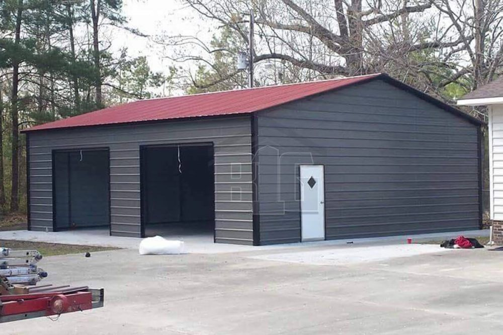 Marice Garage 24x30x11 Big Buildings Direct Garage Door Styles Garage Door Design Metal Garages