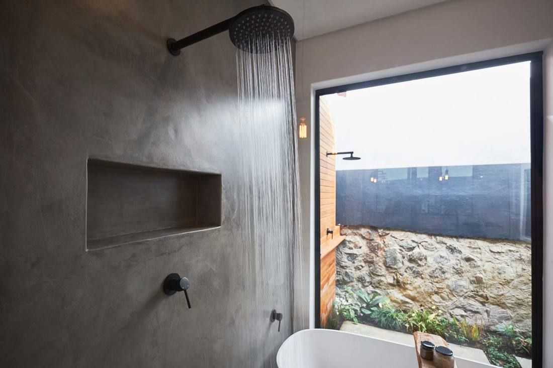 Residential featured project designer bathrooms cemcrete cemcote
