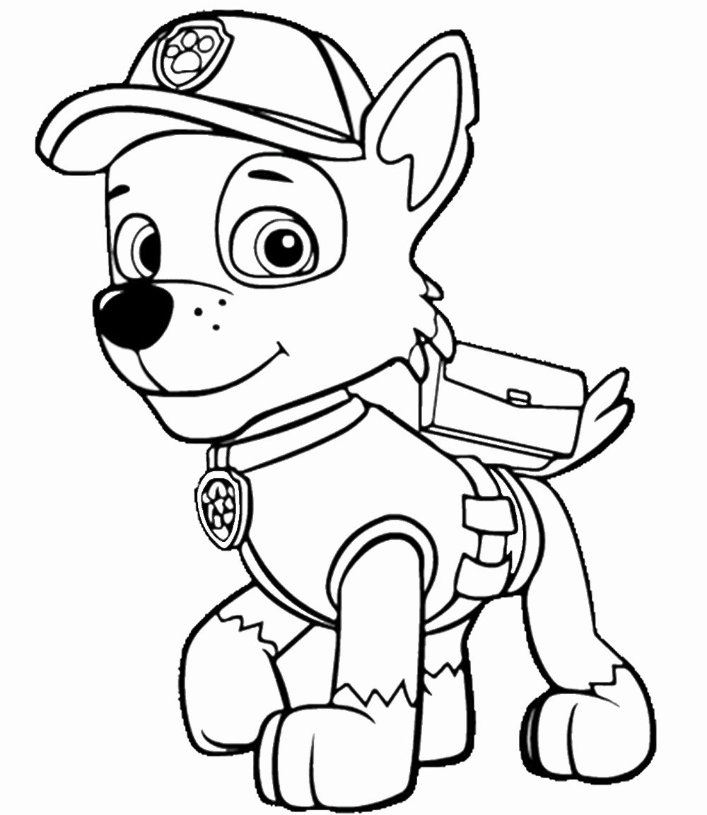 Paw Patrol Printable Coloring Pages Awesome Paw Patrol Coloring