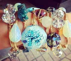 bourbon and bowties bracelets | bourbon and bowties bangle!! Want a chunky turquoise one soooo bad:(