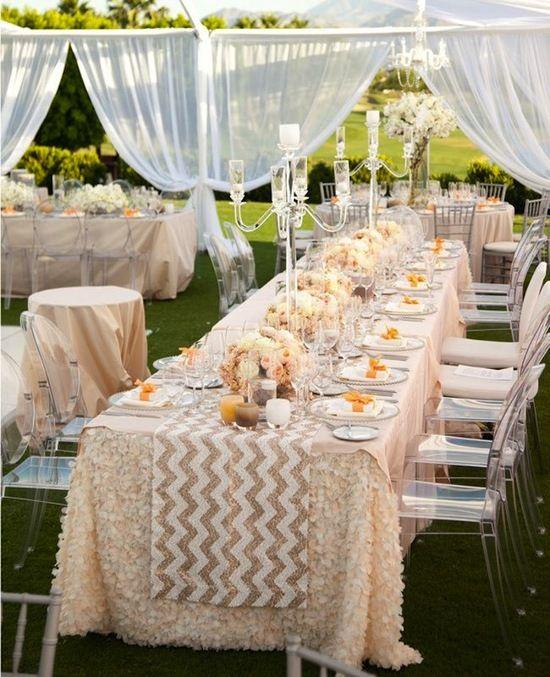 Love this! Outdoor Drapery #Flowers, #Romantic, #Design, #Wedding Styles, #Ceremony and Reception, #Decor, #Draping, #Outdoor Wedding Style, #Draped Fabric, #Elegant Wedding Decor, #Luxurious Reception