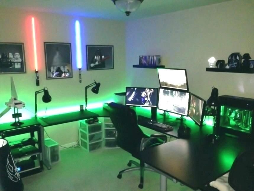 With the world still dramatically slowed down due to the global novel coronavirus pandemic, many people are still confined to their homes and searching for ways to fill all their unexpected free time. Cool Game Room Stuff Gamer Decor Gaming ... in 2020 ...