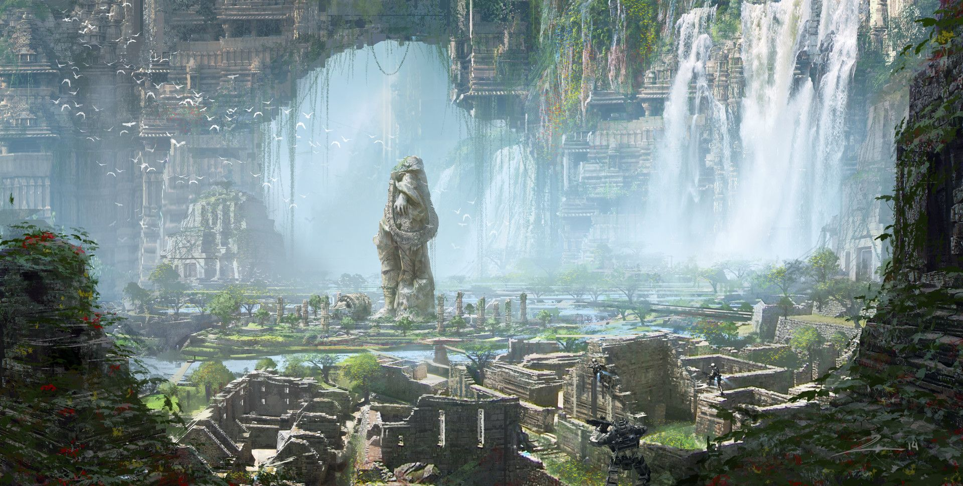 Imaginary Landscapes Scenery born from the minds of