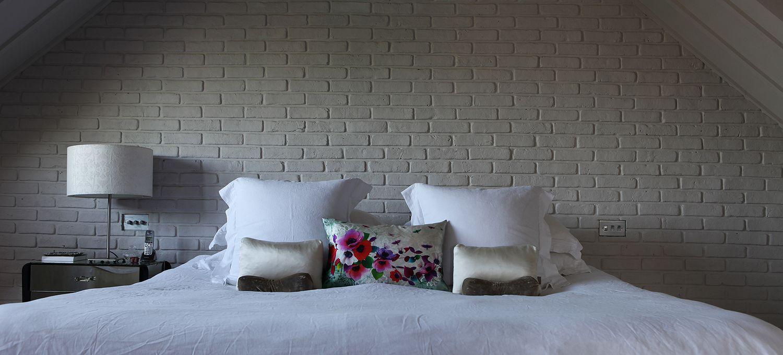 Comfy guest bed