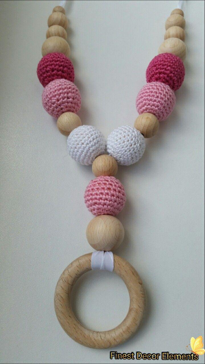 Slingo beads for girl  #slingobeads #forgirl #forkids #formom #wood #cotton #finestdecorelements